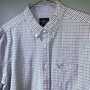 Men's American Eagle casual button down shirt XL